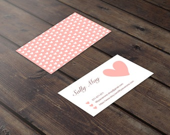 Cute business card Etsy