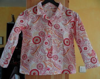 Liberty cotton girl blouse
