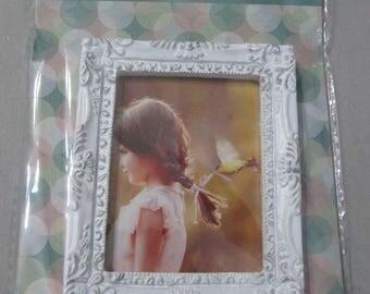 Mini baroque picture frame