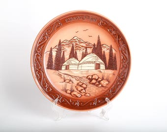 Plate with nomad image