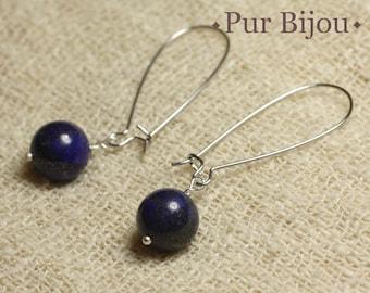 Earrings - Lapis Lazuli 10mm