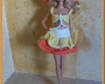 Set 2 of 2 outfits for Barbie doll
