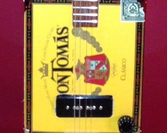 Handmade Cigar Box Guitar - 4 String