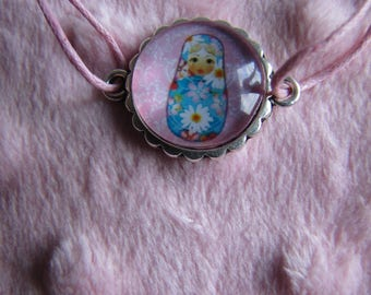 Russian doll - Matrioshka - bracelet