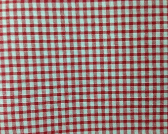 A 3 mm, price Plaid gingham cotton fabric is 50 cm