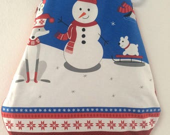 Sleeping bag / sleeping bag 0/6 month winter spirit (snowman)