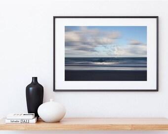 Yacht on the Ocean, Blue Ocean, Digital Download