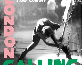 The Clash London Calling Album Cover Poster 24x24 inches