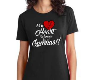 My Heart Belongs to a Gymnast T-Shirt