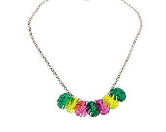 Necklace - Tropical Dream - neon / Color