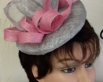Bibi ceremonial gray metallic and old pink