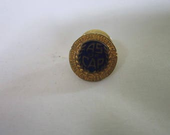Antique Enameled AS of CAP Pinback Composers Authors & Publishers