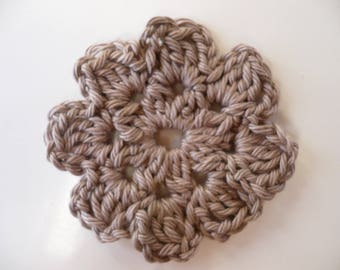 crochet flower, crochet, crochet applique flower crochet applique rose pattern