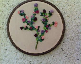 Silk Ribbon embroidery chart
