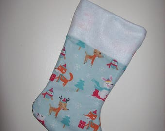 Animal Friends Christmas Stocking