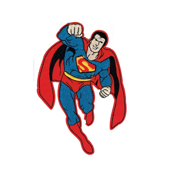 "Patch fusible pattern ""SUPERMAN"""