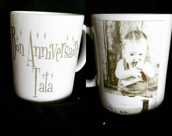 Mug personalized with PHOTO of your choice
