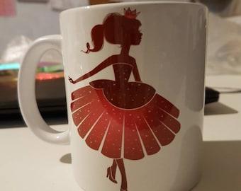 Princess mug with name choice