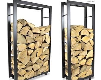 The Buckinghamshire Log Holder Firewood Rack Log Basket Firewood Holder Storage