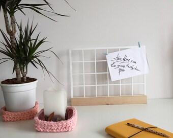 Memo board, Mood board, Grid board