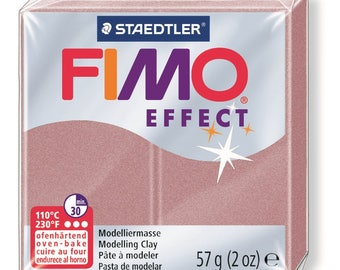 Fimo Effect 57 g - pink pearled N 207 - Ref 68020207 - while quantities last!