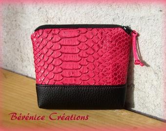 "Wallet ""joyful color"" Red"