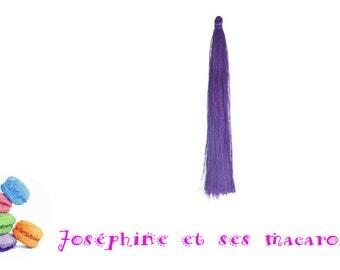 Purple 1 tassel size 9 cm