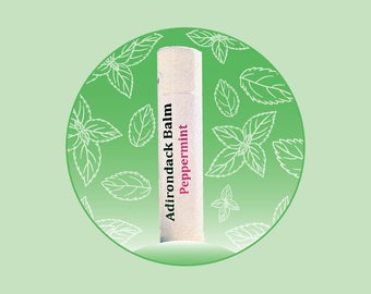 Adirondack Peppermint Lip Balm