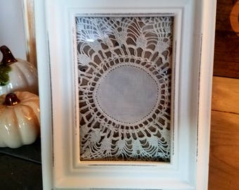 New Unique Farmhouse Rustic PICTURE FRAME-wall gallery-Distressed Frame 4 x 6 -shabby chic-home French Country Decor