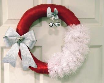 Christmas Wreath, Santa Clause Wreath