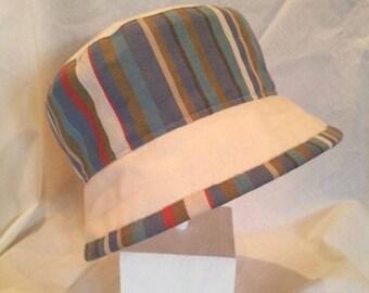 Bob striped blue/beige