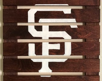 14x14 San Francisco Giants Logo