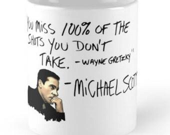 michael scott mug
