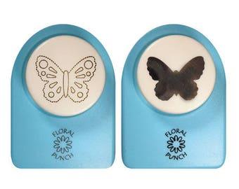 Perfo Kit + embos 2.5 cm_FLP016 medium Butterfly
