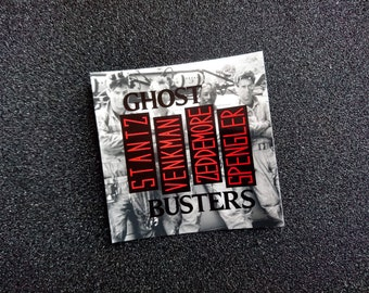 "Ghostbusters ""Rise Above Gozer"" Sticker"