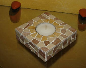 your camel Square candle holder