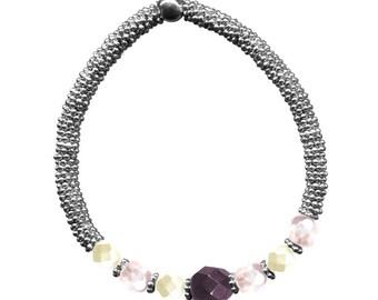 KIT Luxor Night Bracelet silver & purple