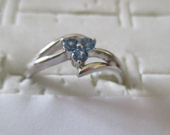 Silver 925 with zirconium flower ring