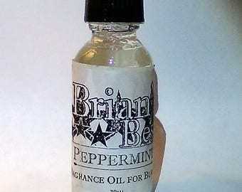 Peppermint Scented Incense or Fragrance Oil Formulated for Burners or Warmers - Premium Grade & Quality!