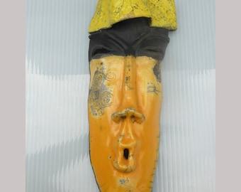 Ceramic mask Touareg
