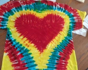 Tie Dyed T Shirt