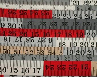 Multicolor Poplin fabric. 100% cotton - the tape measure. Coupon 50cm x 112cm.