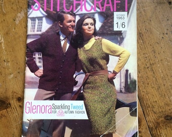 Vintage Stitchcraft Magazine from October 1963 - rare