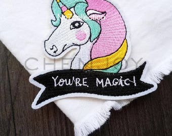 Cute Unicorn Embroidered Patch