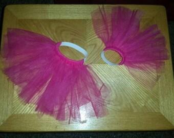 Pink pet tutus