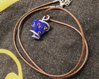 D4 Wire-Wrapped Necklace