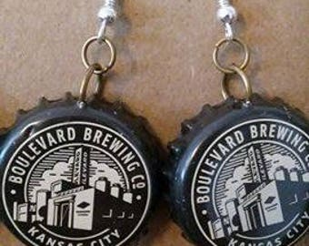 Boulevard Bottlecap Earrings