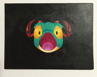 Heroes of the Storm emote - bwwow painting - brightwing