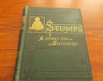 hb 1884 Stumps a Story for Children stella austin
