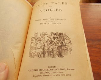 hb circa 1892 Andersens Fairy Tales